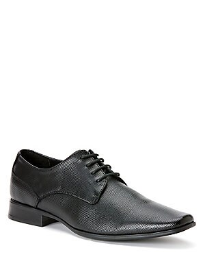 Brodie Embossed Leather Oxfords