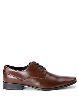 Brodie Leather Plain Toe Oxfords