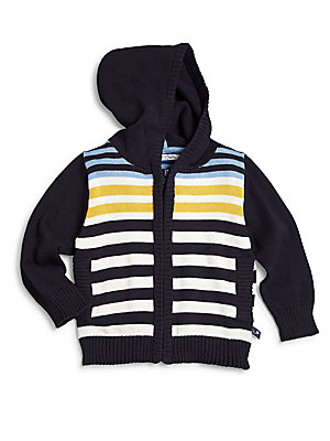 Baby's Country Gentleman Striped Hooded Sweater