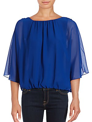 Batwing-Sleeve Top