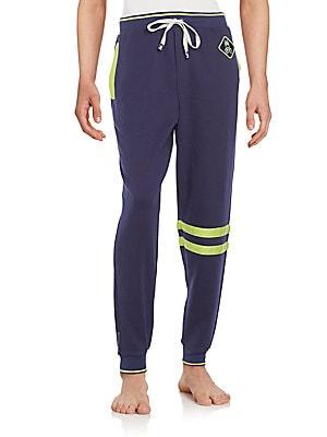 Cotton Jersey Jogger Lounge Pants