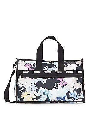 Floral-Print Medium Weekender Bag