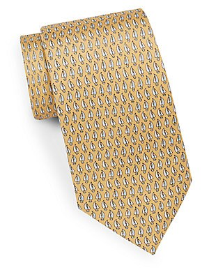 Sailboat Silk Tie