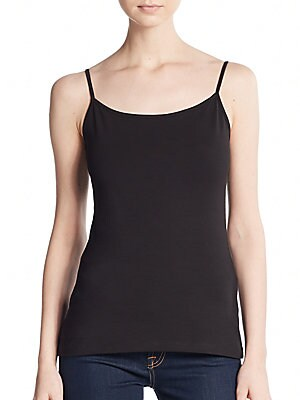 Basic Stretch-Cotton Camisole