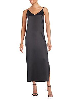 Racquel Silk Maxi Dress