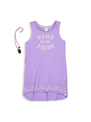 Girl's Graphic Jersey Tank Top
