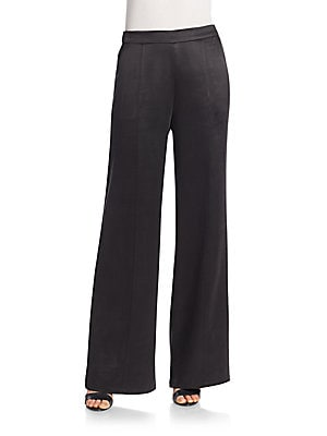 Beckett Silk Charmeuse Pants