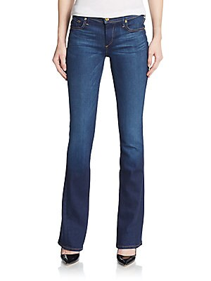Becca Mid-Rise Bootcut Jeans