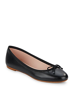 Shauna Leather Ballet Flats