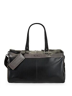 Siran Leather Duffel Bag