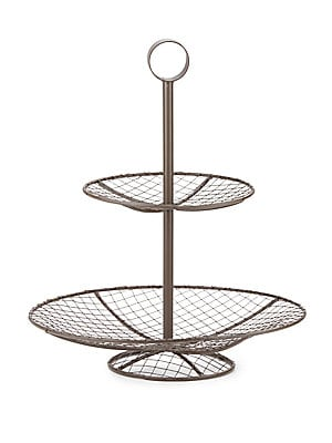 Two-Tier Wire Centerpiece
