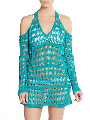 Windswept Knit Coverup