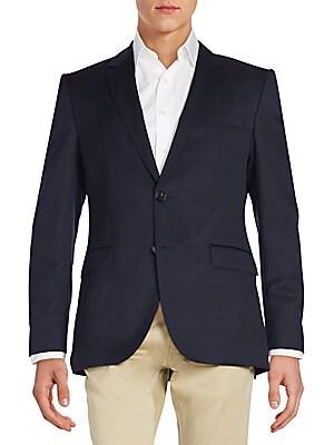 Regular-Fit The James Virgin Wool Sportcoat