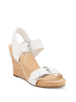 Mega Plush Wedge Sandals