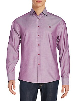 Regular-Fit Cotton Sportshirt