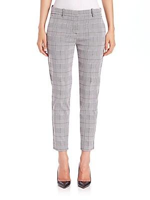 Treeca Brant Check Plaid Pants