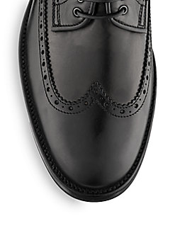 Oden Leather Wingtip Oxfords