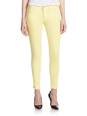 Mid-Rise Skinny Ankle Jeans