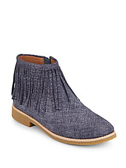 Betsie Fringe Ankle Boots