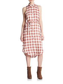 Joan Gingham Shirtdress