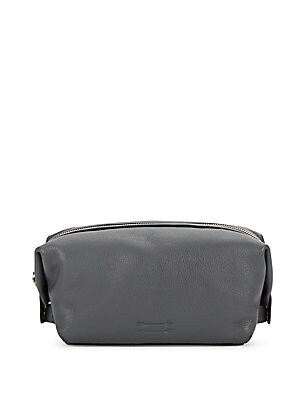 Simple Leather Toiletry Case