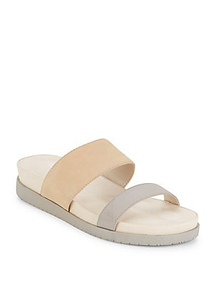 Julian Leather Slide Sandals