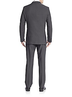 Extreme Slim-Fit Solid Wool Suit