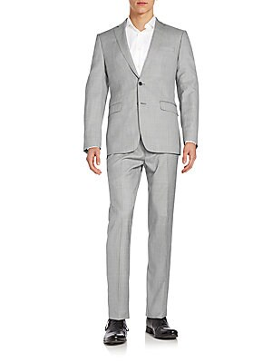Extreme Slim-Fit Wool Suit
