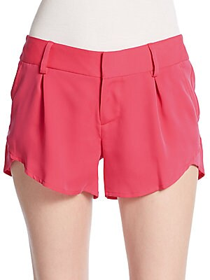 Butterfly Pleated Shorts
