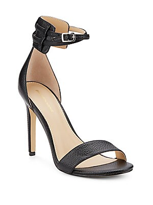 Charlotte Leather Ankle Strap Sandals