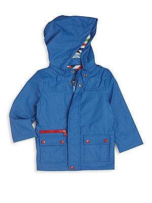Toddler's Hooded Raincoat