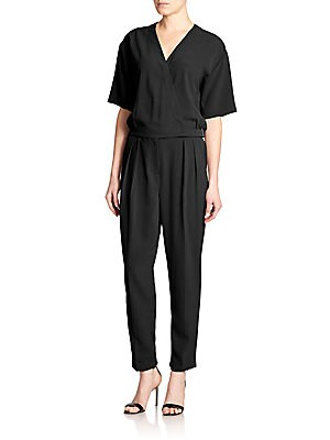 Surplice Jumpsuit