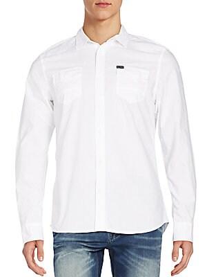 Regular-Fit Seedon Cotton Sportshirt