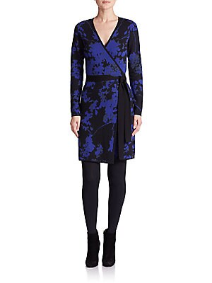 Leandra Wool Wrap Dress