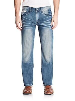 Driven Straight-Leg Jeans