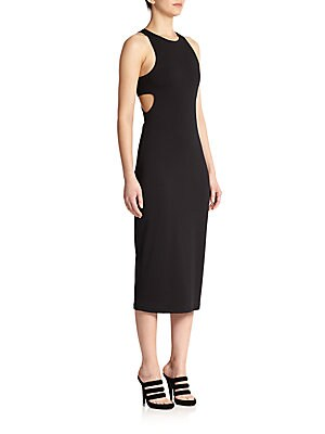 Bandeau-Back Sheath Dress