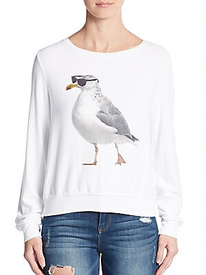 Cool Seagull Pullover