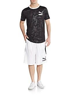 Logo Hoop Shorts