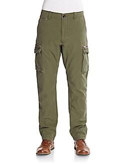 Seamed Cargo Pants