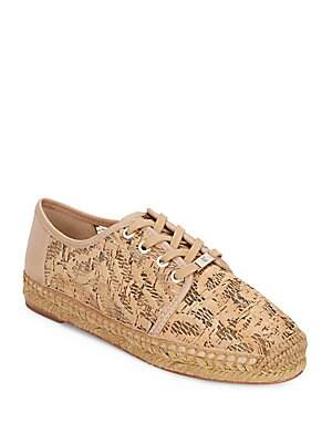 Cai Cork & Leather Espadrille Sneakers
