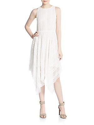 Crocheted Lace Handkerchief Dress