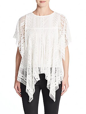 Hanky Lace Top