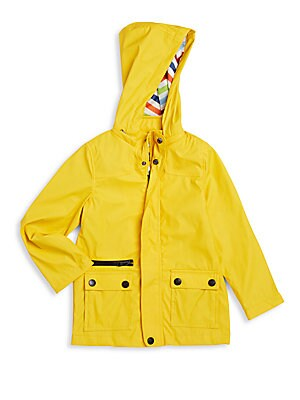 Boy's Hooded Raincoat