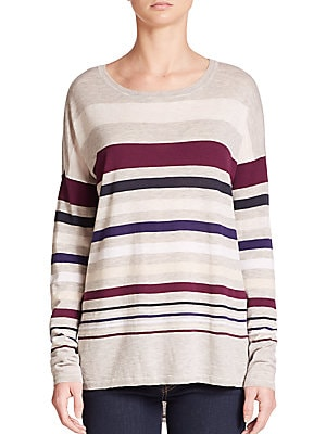Superwash Variegated Stripe Sweater