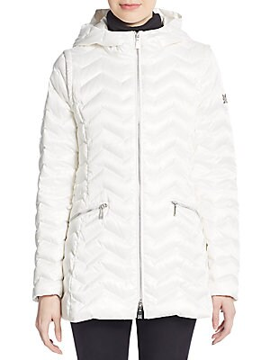 Cleo Long Quilted Puffer Jacket