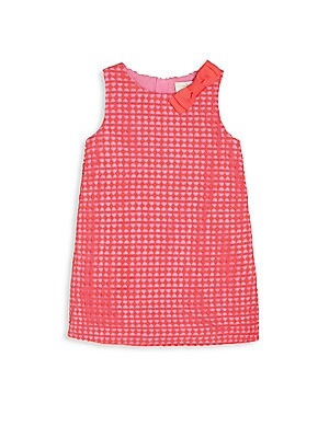 Toddler's & Little Girl's Geo Lace Shift Dress
