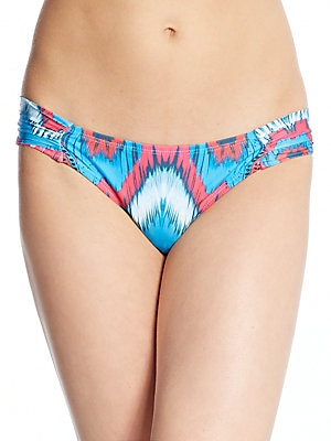 Printed Full Coverage Bikini Bottoms