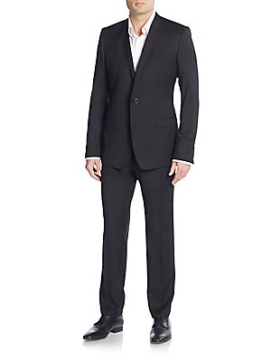 Regular-Fit Wool Suit