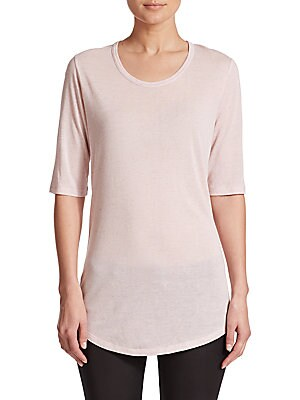 Solid Roundneck Blouse
