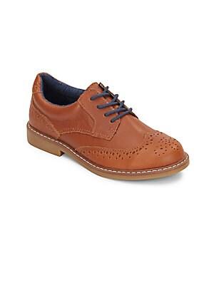 Boy's Leather Oxfords
